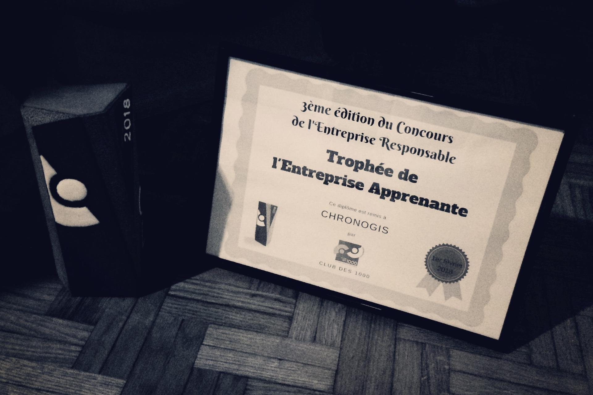 ChronoGIS, Entreprise Apprenante 2018